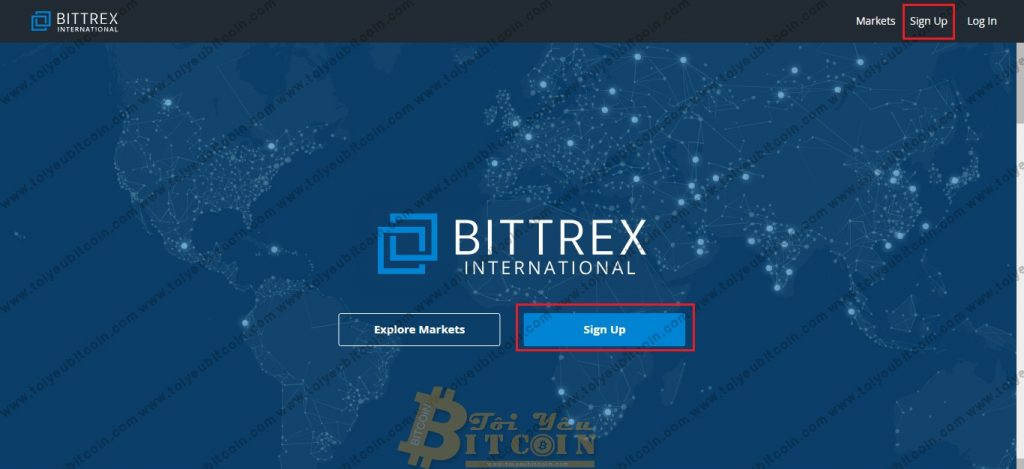 Register to open a Bittrex account.  Photo 1