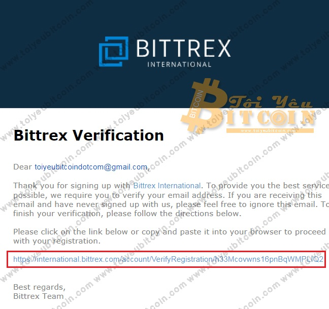 Register to open a Bittrex account.  Photo 3