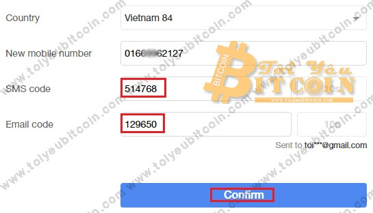 Verify phone number with OKEx.  Photo 4