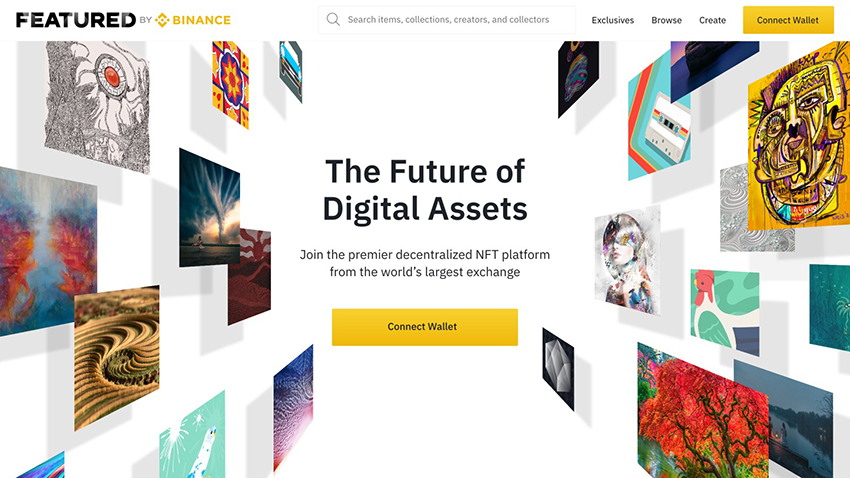 Binance X Launches Leading NFT Platform Featured by Binance