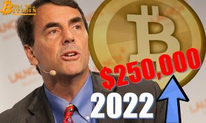 Tim Draper Remains Consistent with $250,000 Bitcoin Price Prediction