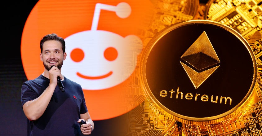 Co-Founder Reddit says he holds a lot of Ethereum