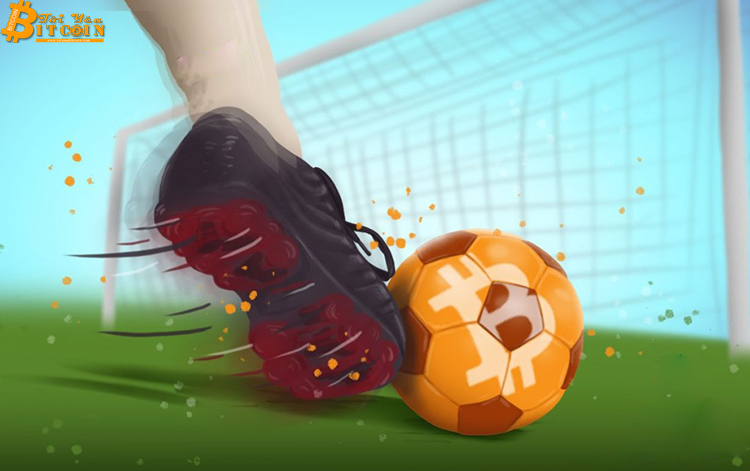 The world's first soccer player bought with Bitcoin