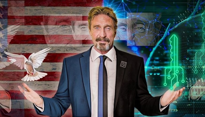John McAfee Claims His Crypto Assets Are Gone: I Have Nothing!