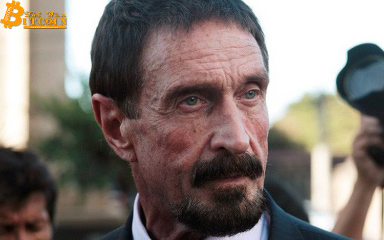 John McAfee cancels his promise to eat 'precious' if Bitcoin does not reach 1 million