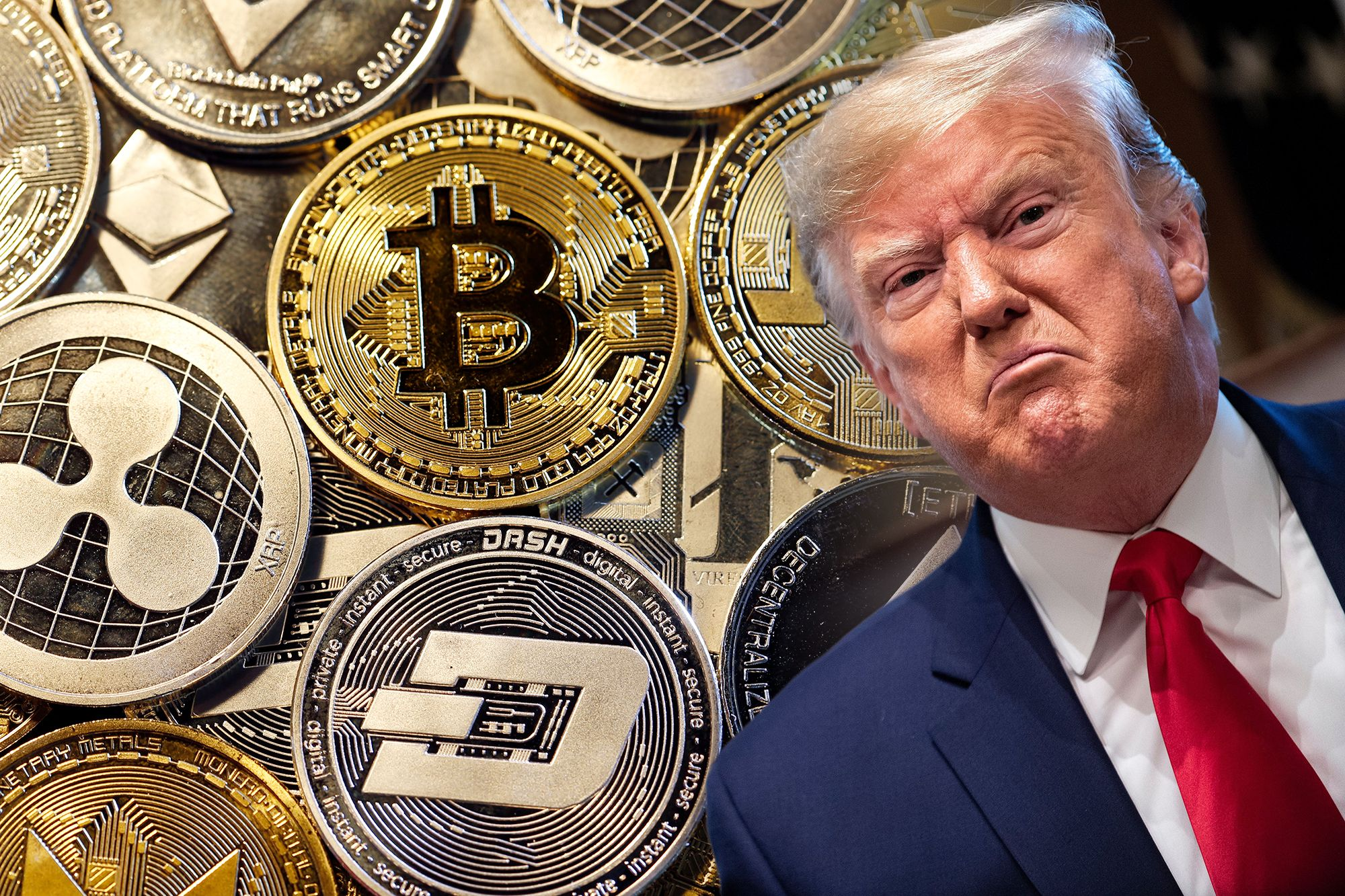 """Former President Donald Trump continues """"bossy"""" Bitcoin when it claims to be """"tough fan"""" U.S. dollar"""