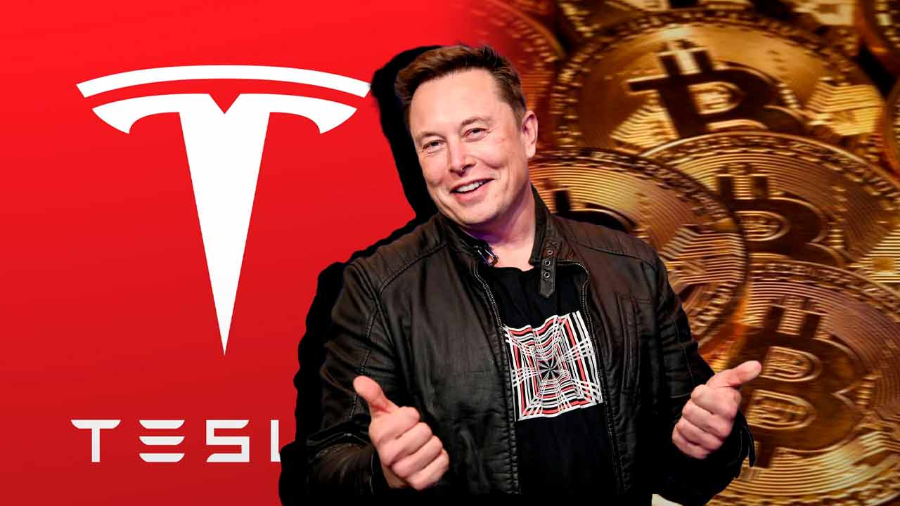 Tesla currently has a $ 1 billion profit from its initial Bitcoin investment