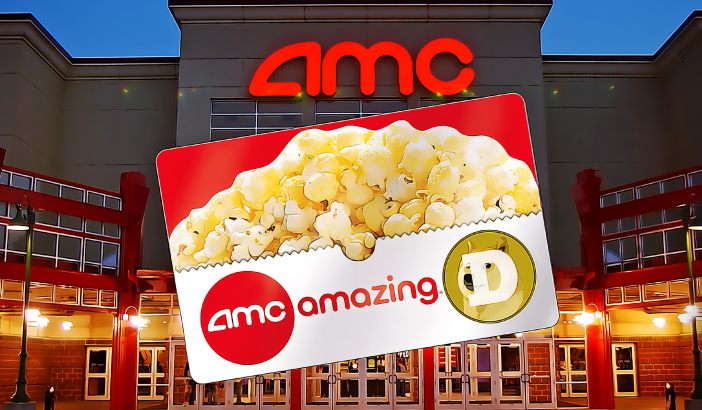 """""""king"""" AMC cinema suddenly accepts Dogecoin (DOGE) payment, """"animal trend"""" is back?"""